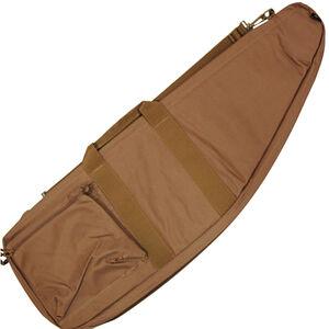 "Bob Allen Tactical Rifle Case 42""x11""x2.25"" Synthetic Fabric Tan"