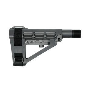 SB Tactical SBA4 Pistol Stabilizing Brace Complete Mil-Spec Kit Adjustable Stealth Gray