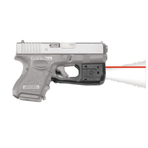 Crimson Trace LaserGuard LL-801 Pro Light/Laser Combo GLOCK 26/27/33/36 150 Lumen LED White Light/5mW Red Laser Polymer Housing Matte Black