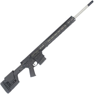 """Stag Arms STAG-10 6.5 Creedmoor AR Style Semi Auto Rifle 24"""" Stainless Steel Barrel 10 Rounds M-LOK Compatible Handguard Magpul PRS Stock Black"""