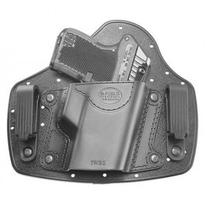 Fobus Universal Inside The Waistband Small Size Firearm Holster Right Hand Matte Black Finish IWBS