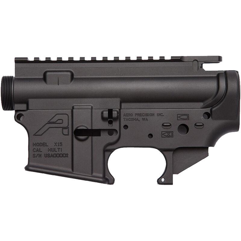 Aero Precision AR-15 Stripped Upper/Lower Receiver Set  223/5 56 Aluminum  Black