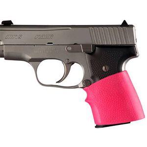 Hogue Handall Jr Universal Slip On Grip Semi Automatics Rubber Pink 18007