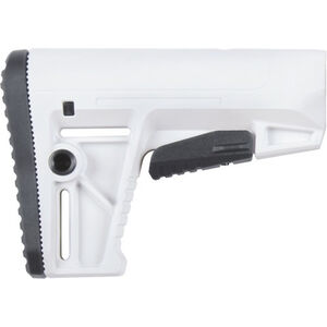 KRISS Defiance AR-15 DS150 Alpine Stock Mil-Spec Adjustable Polymer White
