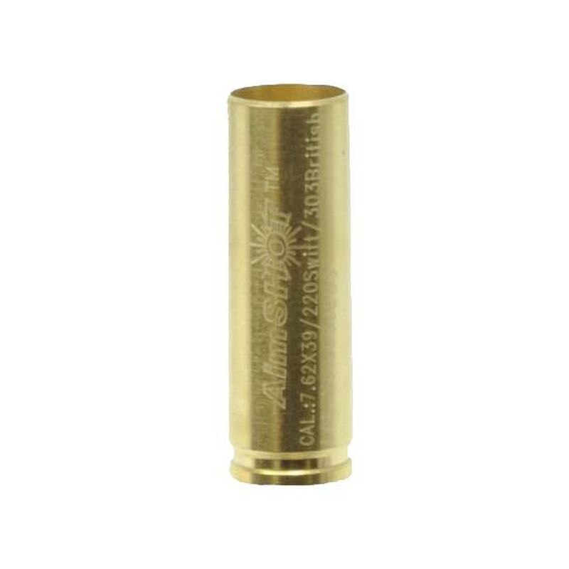 AimSHOT 7.62x39mm/.220 Swift/303 British Arbor for AimSHOT .223/.223 20x AimSHOT Laser Bore Sight Device Brass AR762