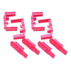 Hexmag HexID Color Identification System for AR-15 Hexmag Magazines Polymer Pink 4 pack HXID4ARPNK