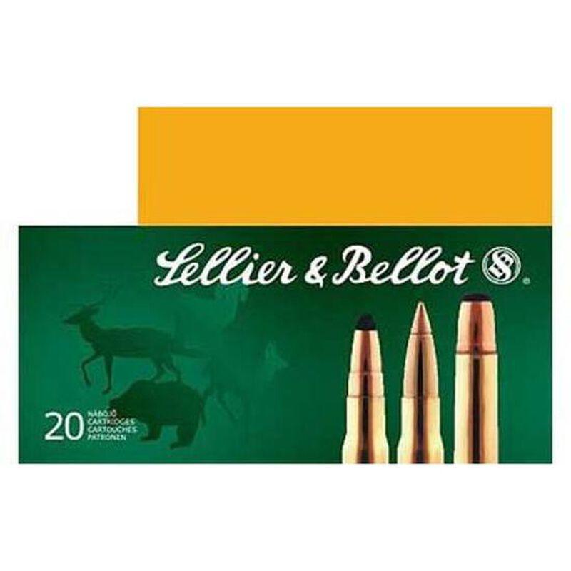 Sellier & Bellot .22-250 Remington Ammunition 20 Rounds Sierra SPTZ BT 55 Grains SB22250A