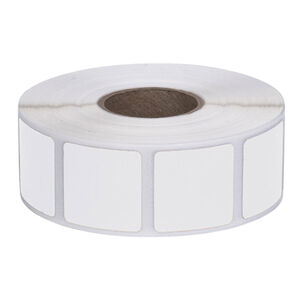 """Action Target Square Target Pasters Roll of 1000 7/8"""" White"""