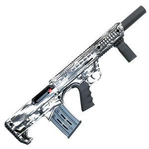 "Black Aces Tactical Pro Series 12 Gauge Semi Auto Shotgun 18.5"" Barrel 2-3/4"" Chamber 5 Rounds Detachable Box Magazine Bullpup Distressed White"