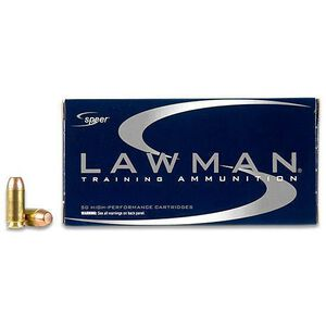 Speer Lawman .40 S&W Ammunition 50 Rounds TMJ 165 Grains 53955
