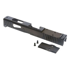 Rival Arms Faction Series Slide for GLOCK 17 Gen 4 Frames Docter Optic Cut CNC Machined 17-4PH Stainless Steel Billet Battle Bronze Finish