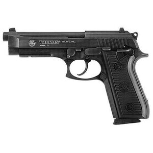 "Taurus Model 92 Semi Automatic Handgun 9mm 5"" Barrel 17 Rounds Black Checkered Rubber Grips Blued Finish"
