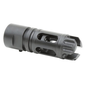 Griffin Armament 30SD Flash Comp 5/8x24 Stainless Black Oxide