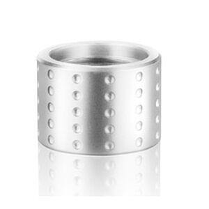 Backup Tactical 1/2x28 Thread Protector Aluminum Spots Silver
