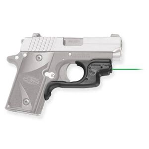 Crimson Trace Laserguard LG-492G SIG SAUER P238/P938 Green Laser Sight