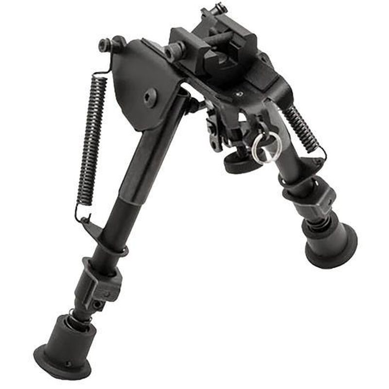 "TRUGLO Tac-Pod Adjustable Bipod 9"" to 13"" with Adapter Aluminum Black TG8902S"