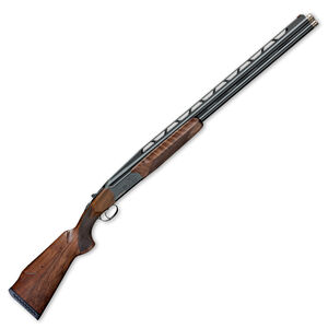"IFG/FAIR Carrera One HR 12 Gauge Over/Under Shotgun 30"" Barrels 3"" Chamber 2 Rounds High Rib Fiber Optic Front Sight Wooden Stock Blued Finish"