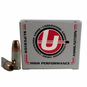Underwood Ammo 9mm +P+ Ammunition 20 Rounds Bonded JHP 124 Grains 132