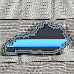"""Violent Little Machine Shop """"Thin Blue Line"""" State of Kentucky Morale Patch"""