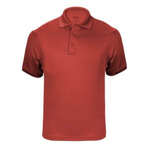 Elbeco UFX Tactical Polo Men's Short Sleeve Polo XL 100% Polyester Swiss Pique Knit Red