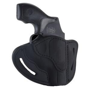 1791 Gunleather RVH-1 OWB Belt Holster for J-Frame Revolvers Right Hand Draw Leather Black