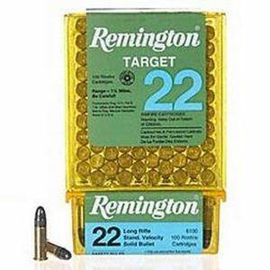 Remington Target .22 Long Rifle Ammunition 40 Grain LRN 1150 fps