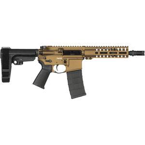 "CMMG Banshee 300 Mk4 .300 Blackout AR-15 Semi Auto Pistol 8"" Barrel 30 Rounds RML7 M-LOK Handguard CMMG Micro/CQB RipBrace Burnt Bronze Finish"