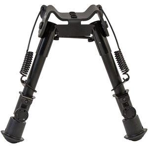 "Caldwell XLA Fixed Bipod 6"" to 9"" Height M-Lok or KeyMod Attachment Spring Loaded Legs Black"
