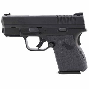TALON Grips Springfield XD-S 9/.40/.45 Textured Rubber Low Profile Grip Black 212R