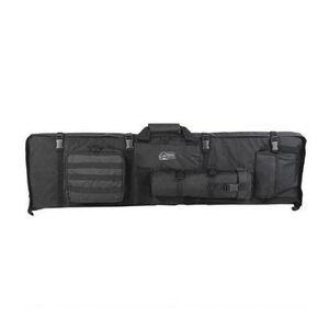 Voodoo Tactical Premium Deluxe Rifle Drag Bag and Shooting Mat Nylon Black