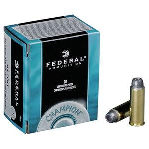 Federal Champion .45 Colt Ammunition 20 Rounds Lead SWCHP 225 Grains C45LCA