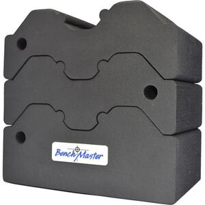 Benchmaster Adjustable 3 Piece Bench Block Black