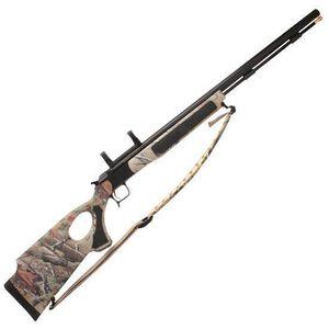 "CVA Accura V2 Black Powder Rifle .50 Caliber 27"" Fluted Barrel Black Nitride Finish Realtree APG Thumbhole Stock PR3122SNM"