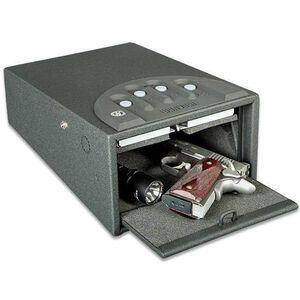 """GunVault Deluxe Mini Vault Safe 12""""x8""""x5"""" Black GV1000C-DLX"""