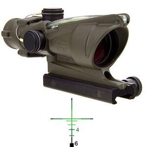Trijicon ACOG TA31-C-100199 4x32 Rifle Scope Illuminated Green .223 Ballistic Crosshair Reticle 1/2 MOA TA51 Flattop Mount OD Green TA31-C-100379