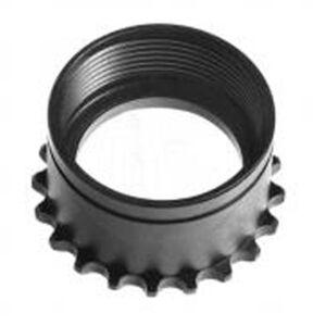 Troy Industries Standard AR-15 Barrel Nut Steel Matte Black SRAI-BNT-0000-00