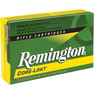 Remington Express 7x64 Brenneke Ammunition 20 Rounds 140 Grain Core-Lokt PSP Soft Point Projectile 2950fps