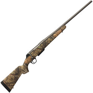 """Winchester XPR Hunter Compact Bolt Action Rifle .300 WSM 22"""" Barrel 3 Rounds Mossy Oak BUC Synthetic Stock Matte Black Finish"""