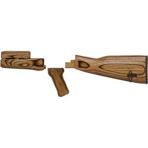 TAPCO TimberSmith Romanian AK-47 Wood Stock Set Brown