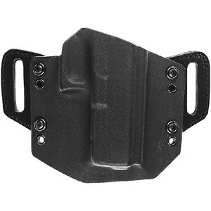 """Tagua Gunleather Armament OathKeeper 1911 Full Sized with 5"""" Barrel OWB Belt Holster Right Handed Kydex Black"""