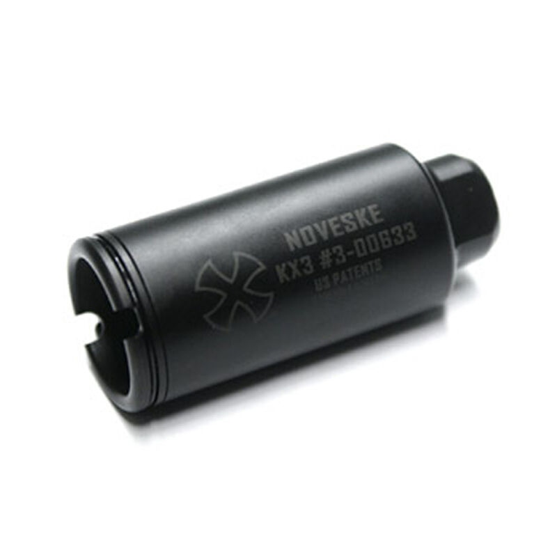 Noveske Rifleworks KX3 AR-15 Flash Suppressor 5.56 NATO 1/2x28 Threads Nitride Black 05000517