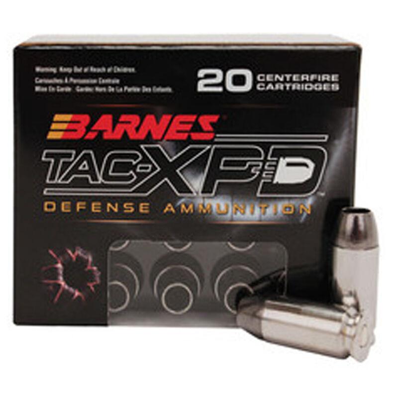 Barnes TAC-XP .40 S&W Ammunition 20 Rounds Solid Copper HP 140 Grains BPD40SW1