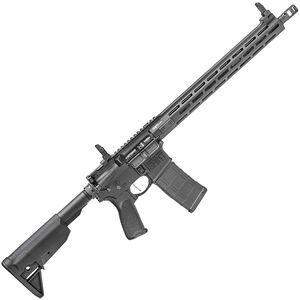 "Springfield Armory SAINT Victor AR-15 5.56 Semi Auto Rifle 16"" Barrel  M-LOK Freefloat BCM Grip and Stock Black"