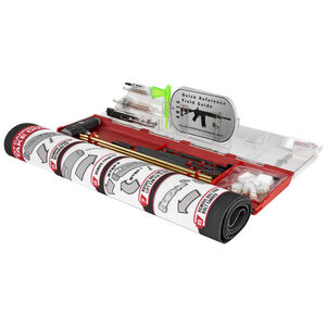 Real Avid AR-15 Master Cleaning Station with Mat, Field Guide, and Complete Set of Cleaning Tools AVMCS-AR