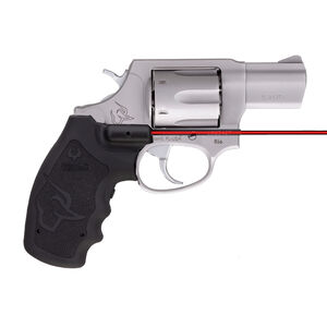 """Taurus 856 UL Ultra Lite .38 Special +P Revolver 2"""" Barrel 6 Rounds Viridian Red Laser Grip Fixed Sights Rubber Grips Matte Stainless Steel Finish"""