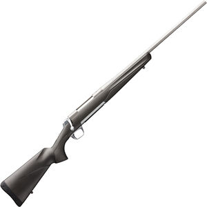 "Browning X-Bolt Stainless Stalker .280 Rem Bolt Action Rifle 22"" Barrel 4 Rounds Matte Gray/Black Composite Stock Matte Stainless Finish"
