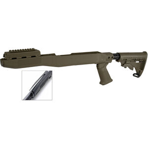 TAPCO INTRAFUSE SKS Stock with Blade Bayonet Cut Polymer OD Green