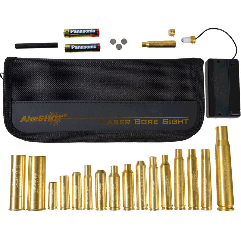 AimSHOT Red Laser Boresight Master Rifle Kit KT-MASTER-RED