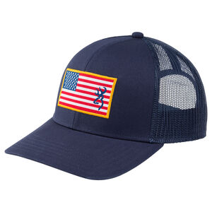 Browning Glory Cap with American Flag Patch and Buckmark Logo OSFM