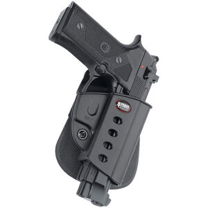 Fobus Evolution Holster Beretta 92/Taurus PT100,PT92 Right Hand Paddle Attachment Polymer Black